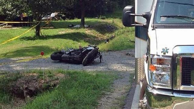 Richard Matthew Green, 21, of Benson, was going about 100 mph when he passed vehicles on a double yellow line and was thrown from this motorcycle on June 21, 2014, according to the state Highway Patrol. He died in the crash.