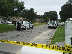 A person was in critical condition after being shot in Fayetteville early Sunday, June 22, 2014,  in the 1500 block of Grandview Drive.