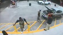 Surveillance video released in search for Fayetteville homicide suspects