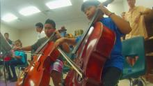 IMAGE: Summer camp opens world of classical music to low-income students