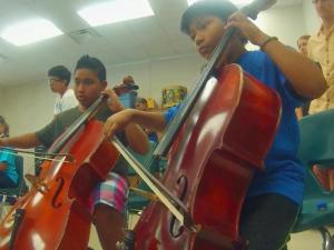 Kidznotes gives children in lower-income schools in Durham and Raleigh access to free music lessons all year long.