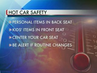 Officials from the Wake County Department of Health and Human Services are planning to make s'mores inside parked cars Friday afternoon as a reminder to parents of just how hot vehicles can get during the summer months.