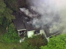 Fire crews and Raleigh police responded early Friday to a fire at an abandoned house near the intersection of Old Wake Forest Road and North Market Drive.