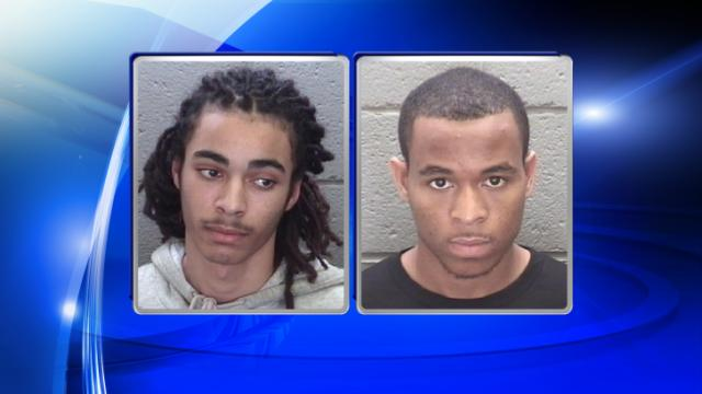 Johnathan Lamont Hargrove, left, and Kionte Marquis Ransome