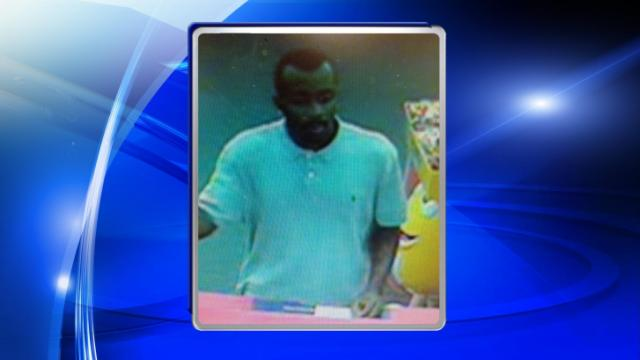 Carrboro investigators are searching for an unidentified man who they say tried to fill a fraudulent prescription.