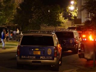 A nearly nine-hour standoff at a North Raleigh condominium complex ended around 1:30 a.m. Sunday, July 6, 2014, after police took a man into custody.