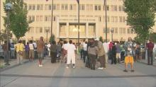 Hundreds rally against Fayetteville youth violence