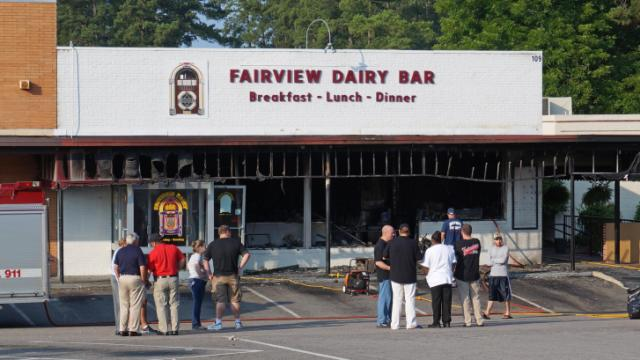 Emergency Crews Responded To The Fairview Dairy Bar At 109 Carbonton Road Near Downtown Sanford