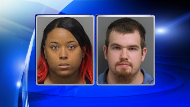 Jacqueline Michelle Cannady, left, and Corey Andrew Shearin