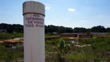 IMAGES: Hope Mills Lake dam project moves forward