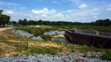 IMAGES: Hope Mills residents eager for repaired dam, refilled lake