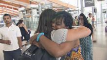 IMAGES: 'Without you, I wouldn't be here:' Benson woman meets life-saving donor
