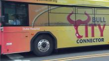 Surveillance video shows teens leaving explosive device on Durham bus
