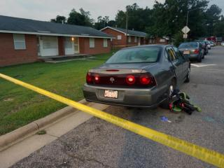 A 7-year-old child died early Thursday from injuries suffered when bullets were fired into a home in the 400 block of Parkview Street in Wilson, police said.