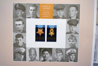 "Rodolfo ""Rudy"" Hernandez, a Fayetteville Korean War Medal of Honor recipient, will be immortalized on a Korean War Medal of Honor stamp sheet, the U.S. Postal Service announced Thursday."