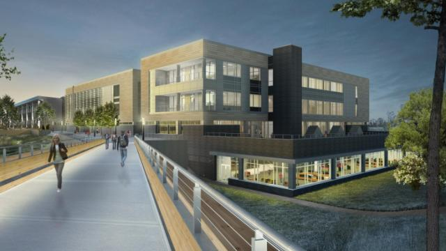 Seven years after its 2007 opening, Wake Tech's north Raleigh campus  is planning an 88,500 square-foot library and classroom facility.