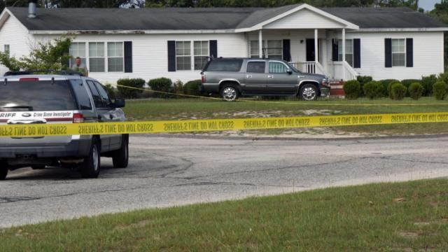 Three people died Wednesday morning following a domestic dispute and shootout with Cumberland County deputies at a home on New Moon Drive outside Fayetteville.