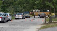 IMAGES: Three bursts of gunfire, three dead, three injured