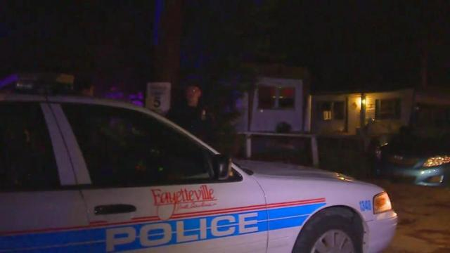 Fayetteville police said two men were shot Friday at about 9:30 p.m. in the 300 block of Peejay Lane.