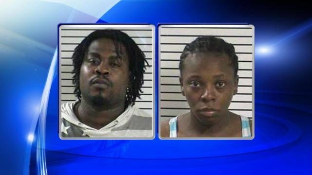 Sherrie Tiesha Clay, right, and Shakee Duquan Robinson