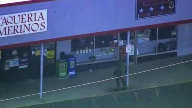 "Sanford police are investigating a suspicious package found at a shopping area at 2632 Lee Ave. A Fort Bragg bomb squad was dispatched to handle the package, described as a ""black box on top of a newspaper box,"" according to news reports."
