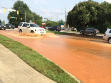 Kildaire Farm Road is closed between High Meadow Drive and Southwest Cary Parkway as crews repair a water main break.