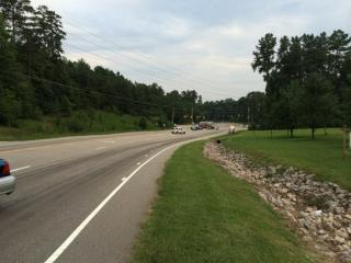 One person was killed Friday evening in a crash in northwest Raleigh.
