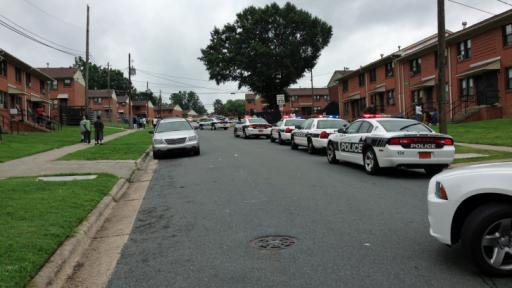 Durham police said an 18-year-old man was fatally shot Sunday morning (Aug, 10, 2014) at the intersection of Wabash Street and Ridgeway Avenue. Photo by Harold Morrow.