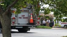 Haz-mat crews evacuated the offices of RTS software on Kildaire Farm Road Tuesday.