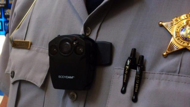 Some Hoke County sheriff's deputies next week will begin wearing lightweight cameras that record their every move in an effort by the local sheriff to improve community relations.