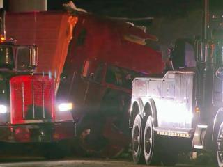 One person was killed late Tuesday in a wreck involving a tractor-trailer on Interstate 85 North in Durham, police said.