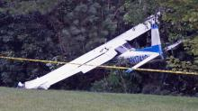 IMAGES: Pilot suffers minor injuries in Granville County plane crash