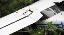 IMAGES: Crash landing was close call for Granville County couple