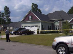 Cumberland County sheriff's deputies investigate the drowning of an 18-month-old at a pool in the Cander Woods subdivision.