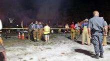 IMAGE: Six dead in Sampson County house fire