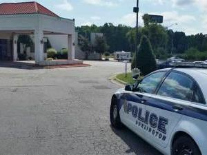 Burlington police found Raphael Devante Currie, 24, and David Israel Williams, 24, both of Burlington, at the Quality Inn at 2444 Maple Avenue around 2:30 Sunday morning. Both men had gunshot wounds, according to a press release. The men were transported to Alamance Regional Medical Center, where Williams died. (Courtesy of FOX8)