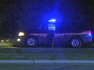 Authorities from Orange, Durham and Wake counties were searching early Friday for two armed men wanted in connection with a home invasion that happened on Pleasant Green Road in Durham.