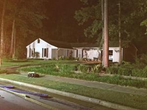 Cary house fire