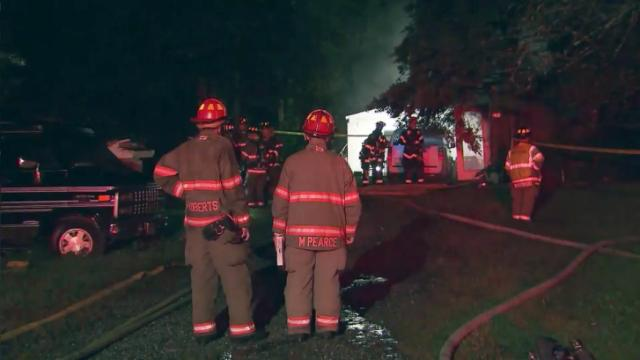 The Durham Fire Department was dispatched to a mobile home at 2718 Enfield Drive on Sept. 8, 2014, after a neighbor called 911. The mobile home was engulfed in flames by the time firefighters arrived.