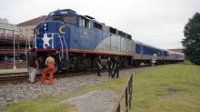 IMAGES: Pedestrian killed by Amtrak train in Durham