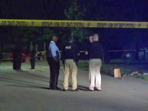 A man was shot multiple times Tuesday night in what investigators believe was an attempted robbery.