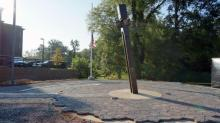 IMAGES: Beam from World Trade Center highlights Pittsboro 9/11 memorial