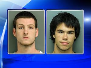 Chase Austin McKiley, left, and Nicholas Scott Jenkins