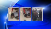 IMAGES: Deputies investigate fight at East Wake High