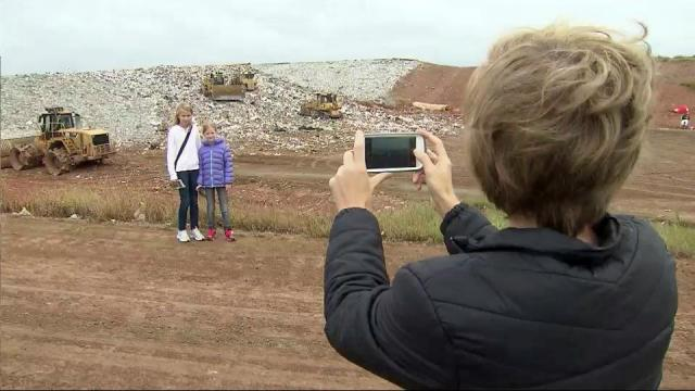 South Wake Landfill public tour.