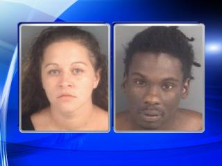 Meghan Clark Salazar and Tirreil Mario Maynor face charges in a Fayetteville home invasion.