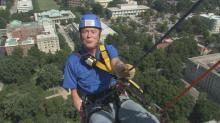 IMAGES: Bill Leslie goes 'Over the Edge'