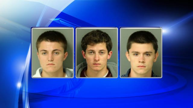 Brian Joseph Cunningham, Matthew R. Cunningham and Sean Vandergrift, left to right