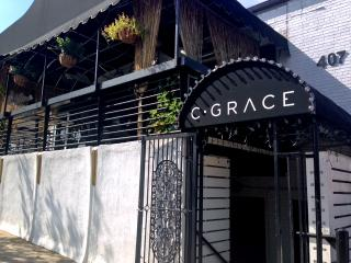C. Grace Cocktail Bar, at 407 Glenwood Ave. in Raleigh