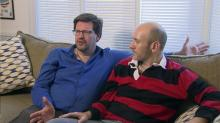 Same-sex couple Shawn Long and Craig Johnson